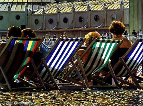 Watercolour of The Brighton Pier