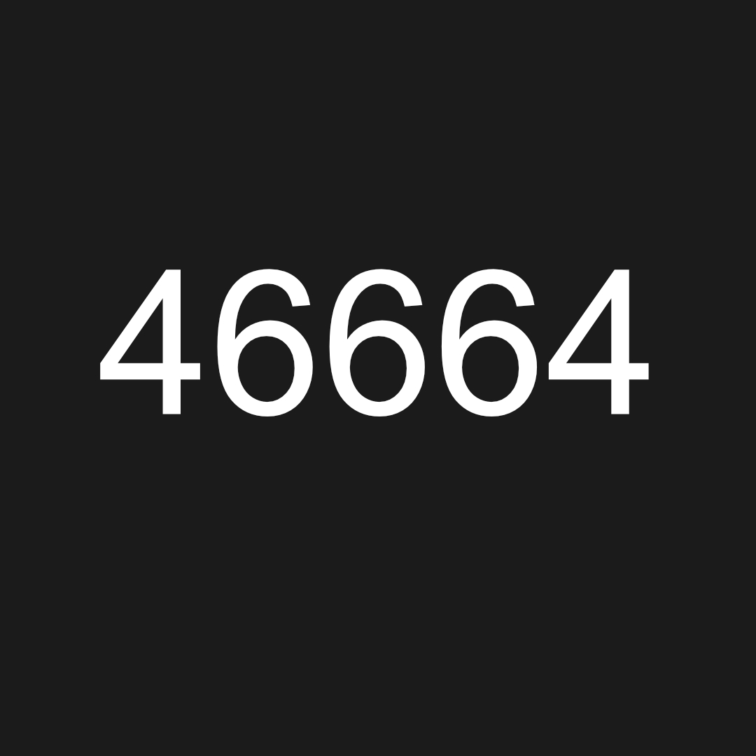 Nelson Mandela's Prison Number, 46664