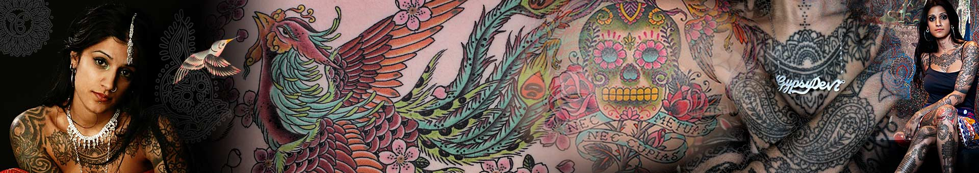Saira Hunjan - Tattoo Artist and Fashion Designer based in London